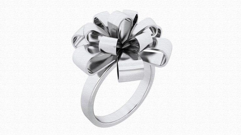 リボンリング♪女性へのサプライズ誕生日プレゼントに指輪を!