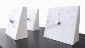 カナエテーブルクロック-シンプルで斬新なおしゃれ置き時計