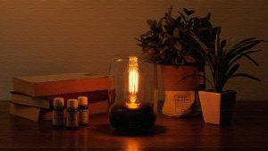 灯りと香りを楽しむ!ノスタルジックデザインのアロマランプ