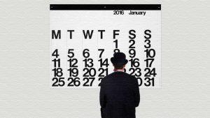 早めに注文を!MoMAでも人気のカレンダーStendig Calendar