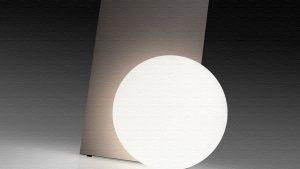 Extra T|球体と反射板のバランスが絶妙なテーブルランプ