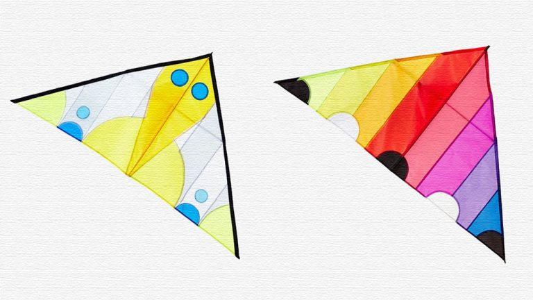 ポップでカラフルなデザイナーズカイト!おしゃれな凧がおすすめ!