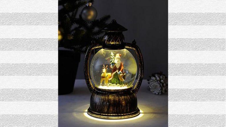 クリスマスの演出に!トゥインクルLEDラウンドランタンが可愛い!