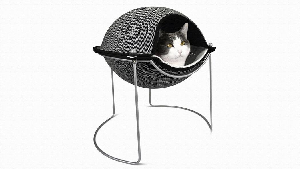NY発の猫用おしゃれベッド「Pod Bed(ポッドベッド)」