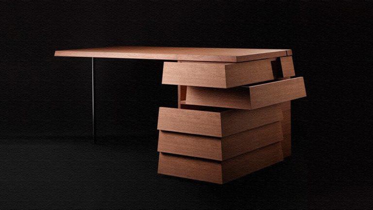 Cartesia Desk|引出しが2方向から開閉するデスク「カルテジアデスク」