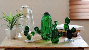 かわいすぎるガラスのサボテン!「サボテン ガラスオーナメント」