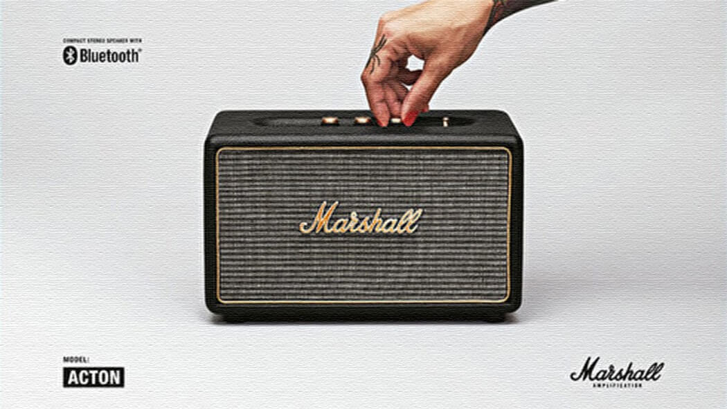 Marshallのホームスピーカー「ACTON」音響マニアも唸らせる高音質!