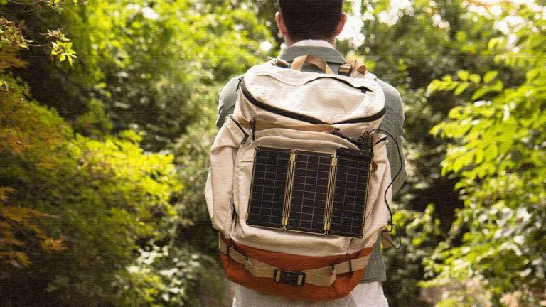 Solar Paper|モバイル充電可能!世界最薄のソーラーチャージャー
