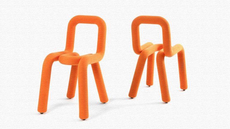 Bold(太字)モチーフの大胆でおしゃれな椅子Bold Chair(ボールドチェア)
