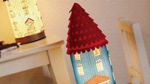 ムーミンハウステーブルランプ♪ムーミン屋敷モチーフのライト