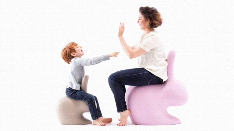 うさぎ型の椅子「Rabbit Chair」オブジェにもなるおしゃれチェア