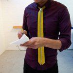 革新的なジッパー式ネクタイ!もう、結ばない。(Skinny Zip Tie)