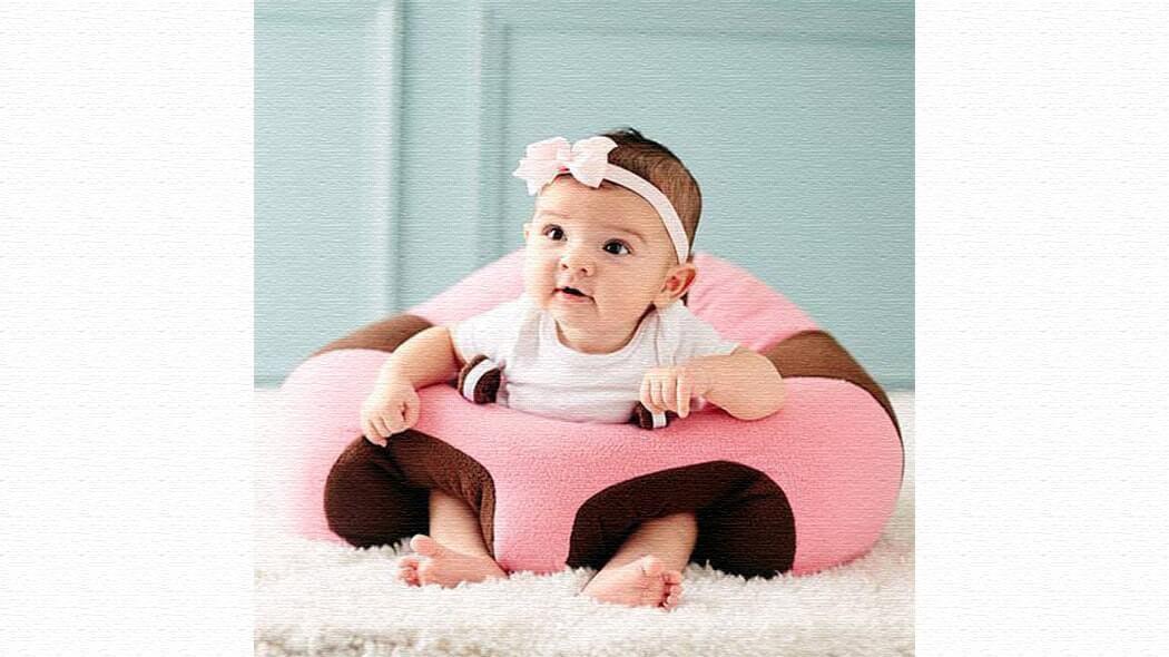 出産祝いに!お座り練習ベビーチェア「HUGABOO(ハガブー)」