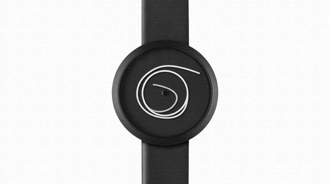 糸くずが時間を表示!?とにかくユニークな腕時計Ora Unica