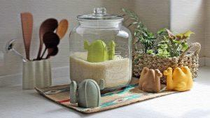 アピュイ ライスメジャー|ラクダとサボテン型の米計量カップ