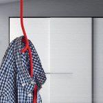 天井から吊るすロープ型コートフック|Loop Rope(ループロープ)