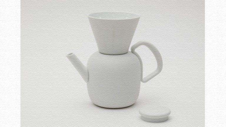 海外デザイナーの感性と有田焼の融合!コーヒーポット+ドリッパー LR 2016/