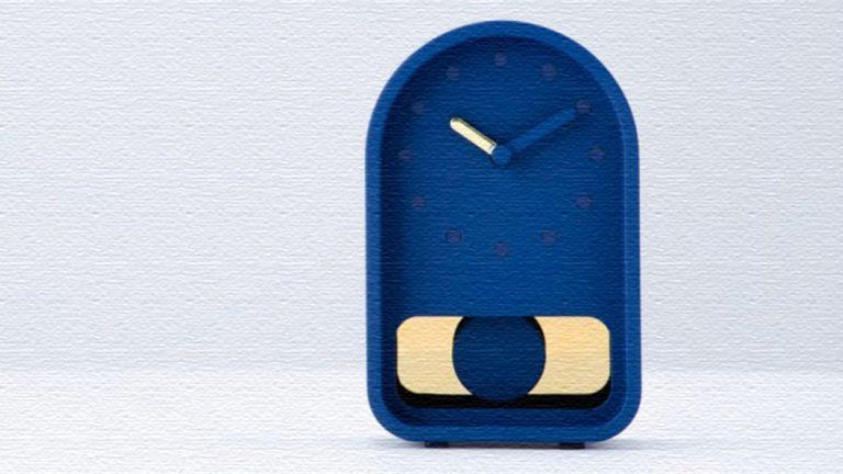 レトロな振り子時計をモダンな置き時計に!83DP-FD01 Clock