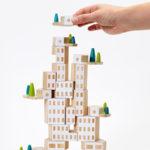 子供のプレゼントに!オブジェにもなるおもちゃブロック「Blockitecture Garden City」