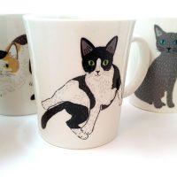 猫さんたちとティータイム!MEOW!MEOW!NEKOマグカップ